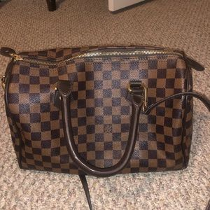Louis Vuitton top handle/ cross body bag